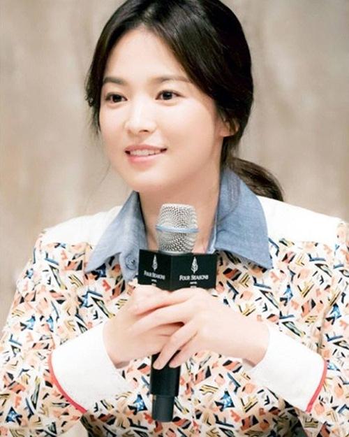 """song hye kyo: """"neu hen ho voi dan ong nhu yoo shi jin thi so lam"""" - 1"""