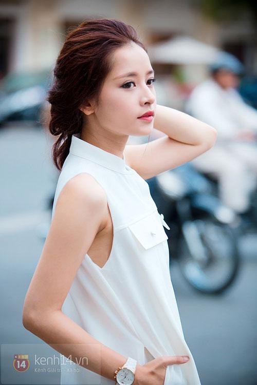 Sự thay đổi phong cách tóc của Chi Pu khi xóa mác hot girl-11
