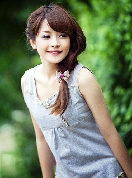 Sự thay đổi phong cách tóc của Chi Pu khi xóa mác hot girl-1