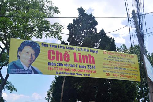 liveshow ca si che linh bi phat du chua dien - 1
