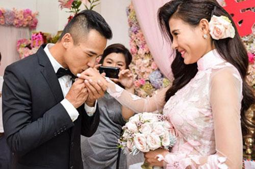"luong the thanh va dam cuoi ""co tich"" cung thuy diem - 4"