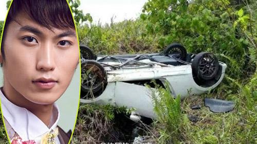 Hoa vương Châu Á gặp tai nạn lật xe nghiêm trọng-2
