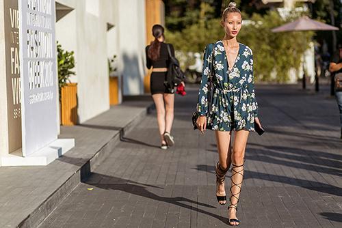 Street style Tuần thời trang quốc tế Việt Nam đẹp như Paris-9