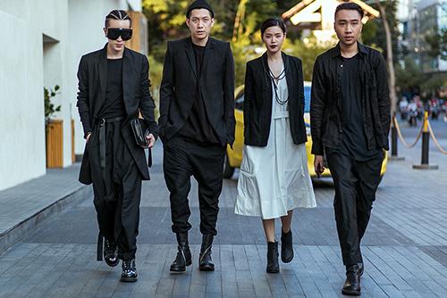 Street style Tuần thời trang quốc tế Việt Nam đẹp như Paris-17