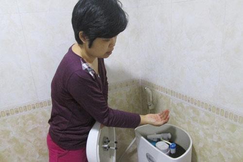 "xi nghiep nuoc sach noi gi ve ""nuoc co giun"" o chung cu cao cap? - 1"