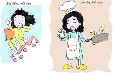 su khac nhau giua gai co chong va chua chong - 3