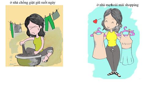 su khac nhau giua gai co chong va chua chong - 6