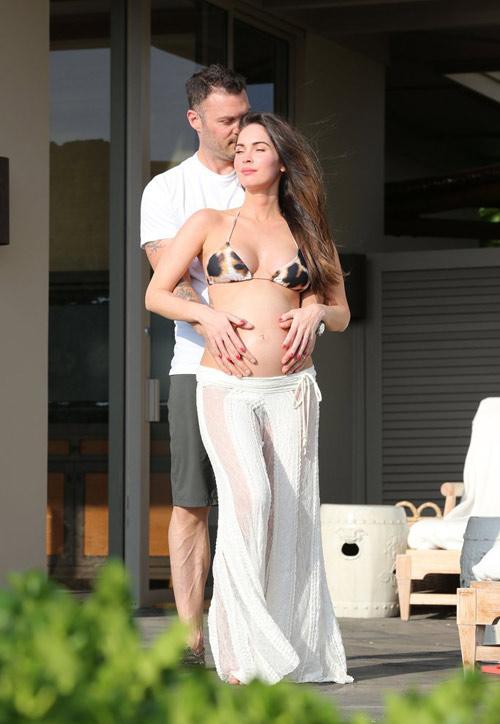 3 lần mang bầu, Megan Fox đều đẹp đến ghen tị-2