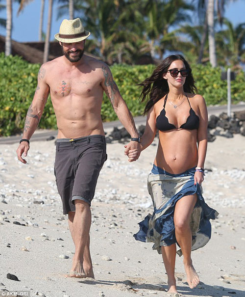 3 lần mang bầu, Megan Fox đều đẹp đến ghen tị-1