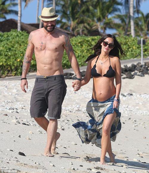 3 lần mang bầu, Megan Fox đều đẹp đến ghen tị-10