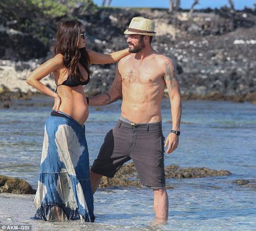 3 lần mang bầu, Megan Fox đều đẹp đến ghen tị-11