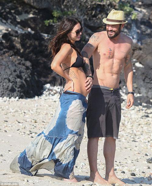 3 lần mang bầu, Megan Fox đều đẹp đến ghen tị-12