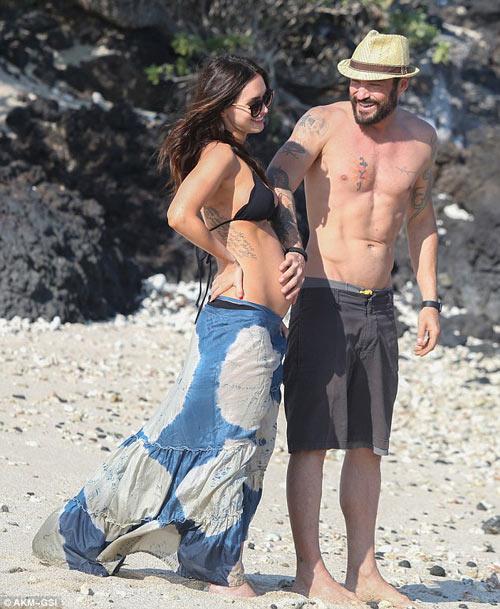 3 lần mang bầu, Megan Fox đều đẹp đến ghen tị-15