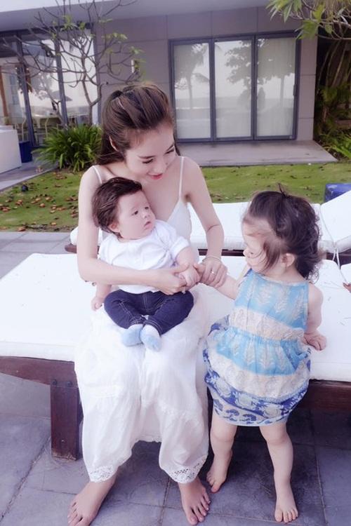 """""""Bà mẹ bỉm sữa"""" Elly Trần khiến vạn phụ nữ muốn có con!-4"""
