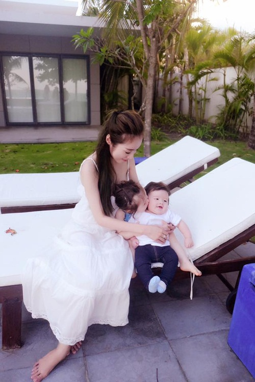 """""""Bà mẹ bỉm sữa"""" Elly Trần khiến vạn phụ nữ muốn có con!-6"""