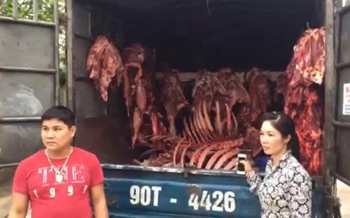Hà Nội lại phát hiện hàng loạt vụ vận chuyển thực phẩm bẩn-2
