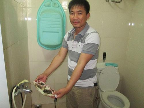 Hà Nội: Lại một chung cư có nước 'sạch' như... nước cống-4