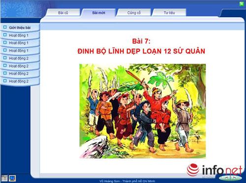 "tro chuyen voi ""cha de"" phan mem hoc lich su truc tuyen cho hoc sinh tieu hoc - 2"
