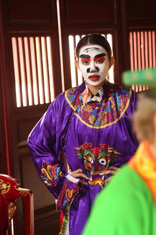 'dau ruot' voi hinh anh gia gai cua ban trai huong giang idol - 10