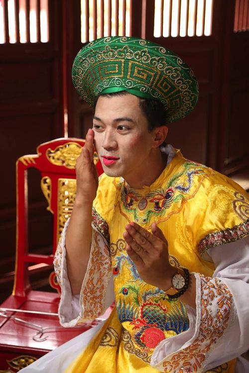 'dau ruot' voi hinh anh gia gai cua ban trai huong giang idol - 4