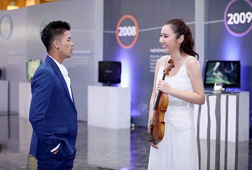 a hau huyen my do sac cung my nhan violin jmi - 10