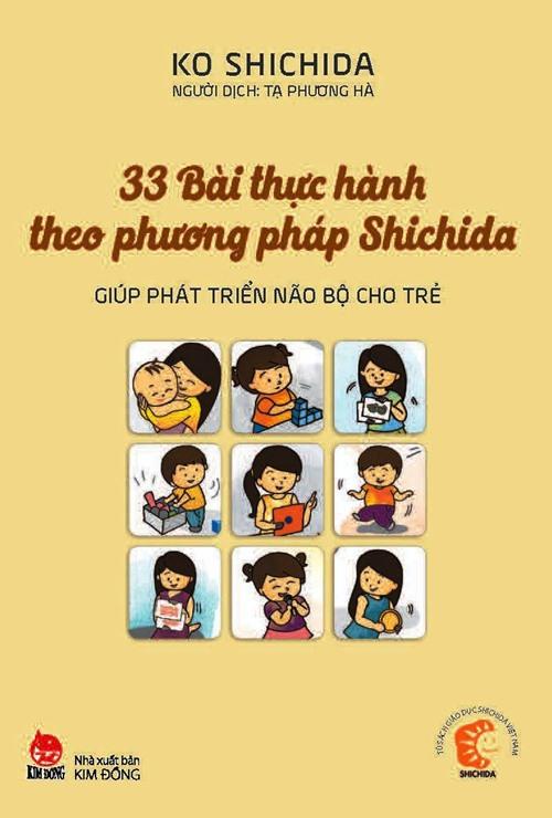 phuong phap giao duc shichida: dung bao gio quen nam tay con - 1