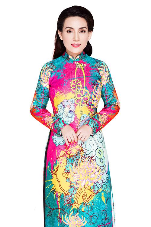 phi nhung dien ao dai dep tua hoang hau nam phuong - 5