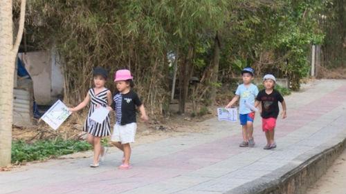 """chinh thuc lo dien 4 cap bo con cua """"bo oi"""" mua 3 - 5"""
