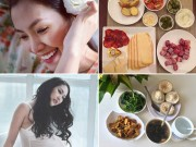 Bà bầu - Thực đơn 'ở cữ' giảm cân vẫn nhiều sữa của mỹ nhân Việt