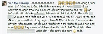 "van mai huong ""khau chien"" gay gat voi hot blogger tren mang xa hoi - 5"