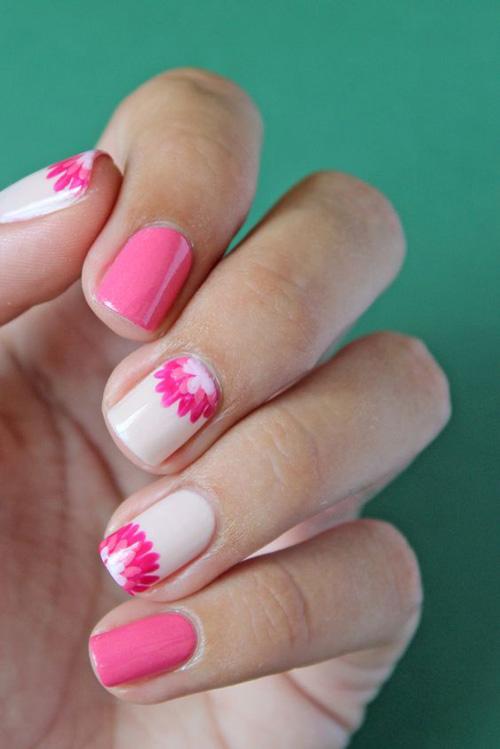 Những mẫu nail mát lạnh giúp bạn giải nhiệt mùa hè-13