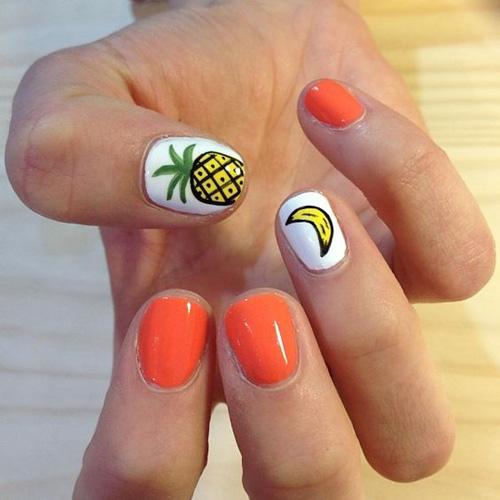 Những mẫu nail mát lạnh giúp bạn giải nhiệt mùa hè-11