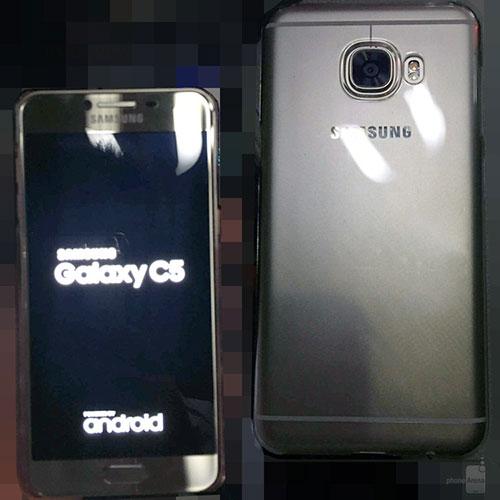 """Samsung Galaxy C5 kim loại lộ """"ảnh nóng"""", rất giống HTC 10, giá rẻ hơn-4"""