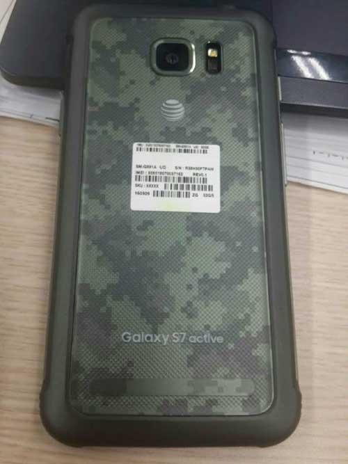 Smartphone siêu bền Galaxy S7 Active rò rỉ tại Việt Nam-1