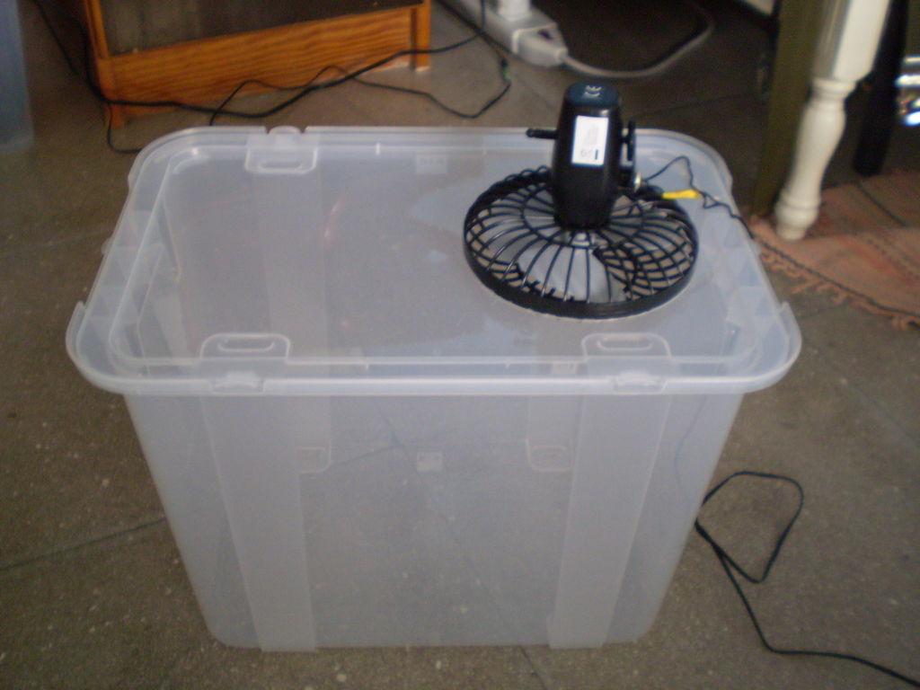 Xua cái nóng thiêu đốt bằng điều hòa tự chế siêu đơn giản-1