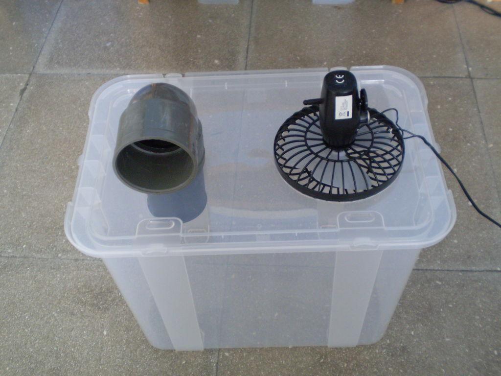 Xua cái nóng thiêu đốt bằng điều hòa tự chế siêu đơn giản-5
