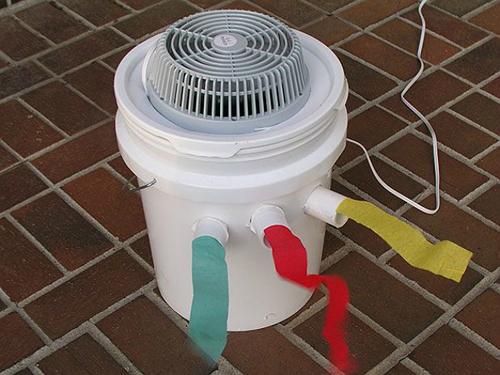 Xua cái nóng thiêu đốt bằng điều hòa tự chế siêu đơn giản-8