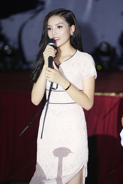 Hoa hậu Kỳ Duyên đẹp tươi tắn, vượt qua ồn ào-3