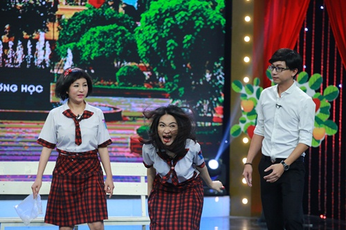 Hòa Minzy bị chê khi diễn hài cùng Thúy Nga-9