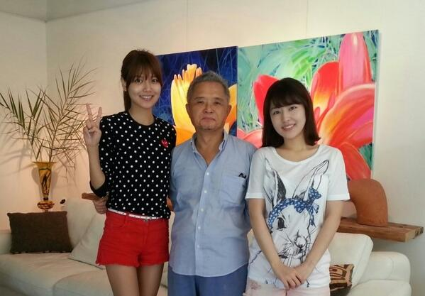 "lo anh gia dinh ""tram anh the phiet"" cua sooyoung (snsd) - 4"
