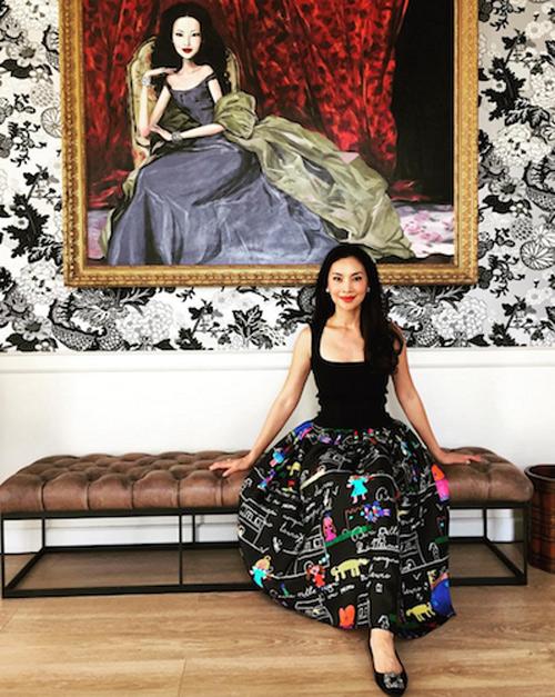 Thời trang xa xỉ của nữ tỷ phú 52 tuổi hot nhất Thái Lan-17