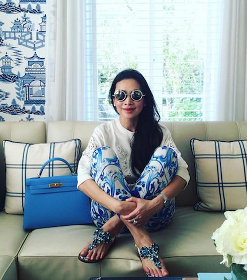 Thời trang xa xỉ của nữ tỷ phú 52 tuổi hot nhất Thái Lan-14