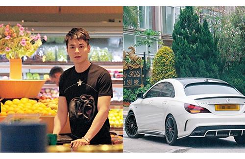 """Vắng vợ, chồng trẻ của """"Chị Cả"""" TVB một mình đi chợ-1"""