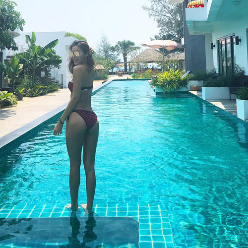 sao viet sexy phat ghen khi mac bikini - 14