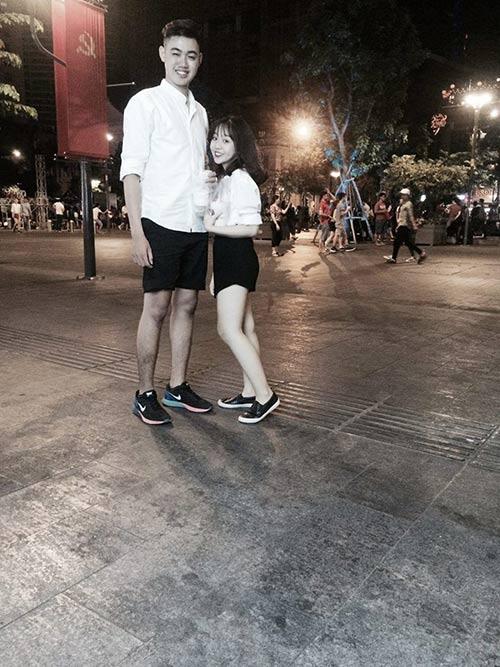 """chuyen tinh """"ngot nhu duong"""" cua cap doi 1m85 – 1m49 - 1"""