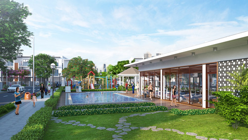 golf park residence – khu compound an tuong tai khu dong - 3