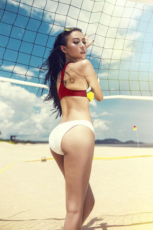 sao viet sexy phat ghen khi mac bikini - 5