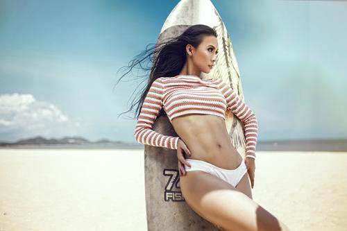 sao viet sexy phat ghen khi mac bikini - 6