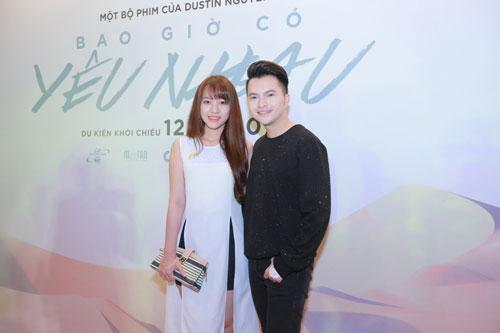 Mlee tình tứ Cường Seven đi xem phim của Dustin Nguyễn-17
