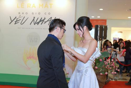 Mlee tình tứ Cường Seven đi xem phim của Dustin Nguyễn-7